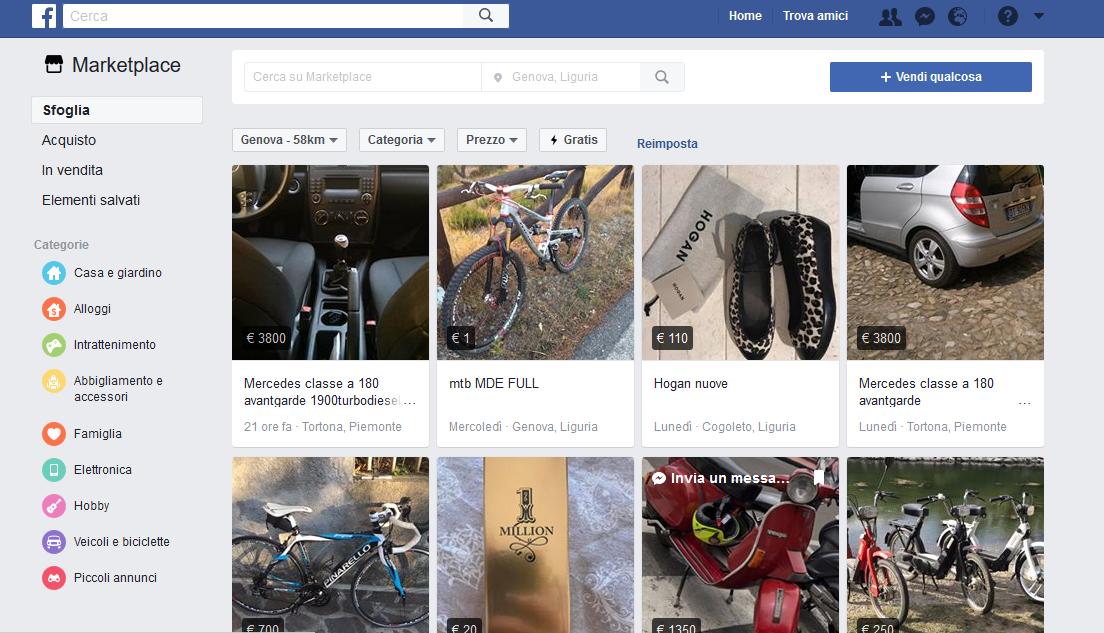 marketplace facebook home desktop